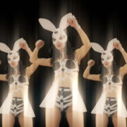Bunny-Girls-Team-Power-Fist-Beat-Kombat-4K-Video-Art-VJ-Loop_004 VJ Loops Farm