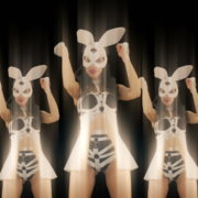 Bunny-Girls-Team-Power-Fist-Beat-Kombat-4K-Video-Art-VJ-Loop_007 VJ Loops Farm