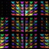 Colorful-Rays-glow-Butterflies-insects-pattern-4K-Video-Art-VJ-Loop VJ Loops Farm