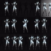 Five-Noir-Black-Playboy-Go-Go-Dancing-Rabbit-Girls-Video-Art-4K-VJ-Loop VJ Loops Farm
