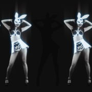 Five-Noir-Black-Playboy-Go-Go-Dancing-Rabbit-Girls-Video-Art-4K-VJ-Loop_008 VJ Loops Farm
