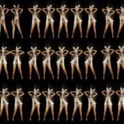 Five-Playboy-Penta-Rabbit-Go-Go-Girls-Dancing-Video-Art-4K-VJ-Loop VJ Loops Farm