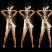 Five-Playboy-Penta-Rabbit-Go-Go-Girls-Dancing-Video-Art-4K-VJ-Loop_002 VJ Loops Farm