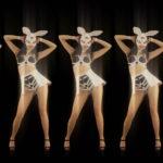 vj video background Five-Playboy-Penta-Rabbit-Go-Go-Girls-Dancing-Video-Art-4K-VJ-Loop_003