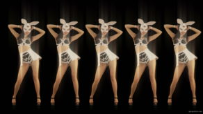 vj video background Five-Playboy-Penta-Rabbit-Go-Go-Girls-Dancing-Video-Art-4K-VJ-Loop_003