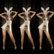 Five-Playboy-Penta-Rabbit-Go-Go-Girls-Dancing-Video-Art-4K-VJ-Loop_005 VJ Loops Farm
