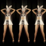 Five-Playboy-Penta-Rabbit-Go-Go-Girls-Dancing-Video-Art-4K-VJ-Loop_009 VJ Loops Farm