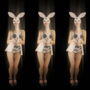 Five-jumping-Girls-in-Bunny-Mask-isolated-on-Black-background-4K-Video-Art-VJ-Loop_002 VJ Loops Farm
