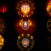 Golden-Glass-gate-spaceship-transition-Video-Art-Vj-Loop VJ Loops Farm