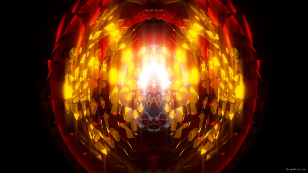 vj video background Golden-Glass-gate-spaceship-transition-Video-Art-Vj-Loop_003