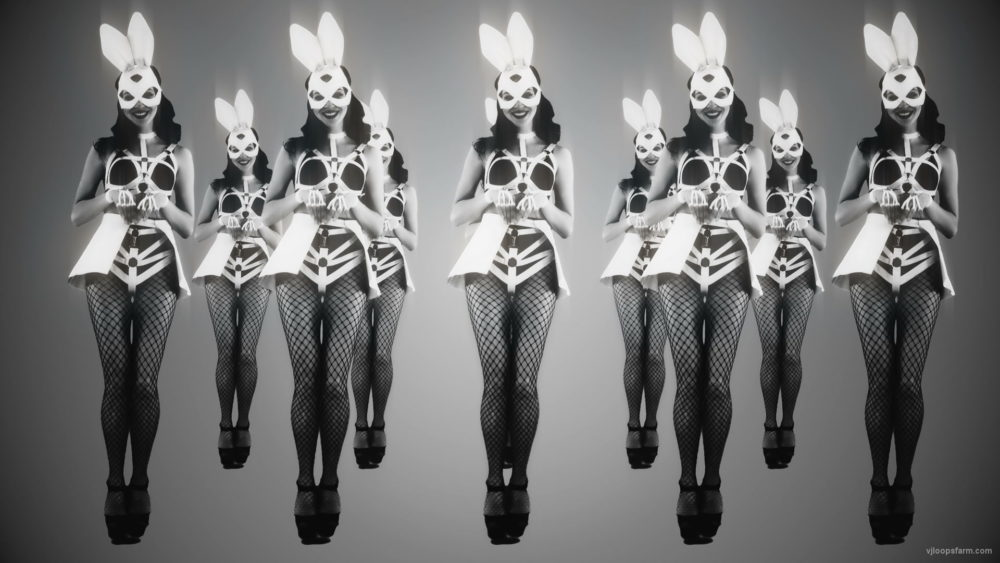 vj video background Noir-Strobing-Jumping-Girls-on-Black-Deep-background-4K-Video-Art-VJ-Loop_003