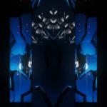 vj video background RED-Blue-Stone-Rock-Pattern-Video-Art-VJ-Loop_003