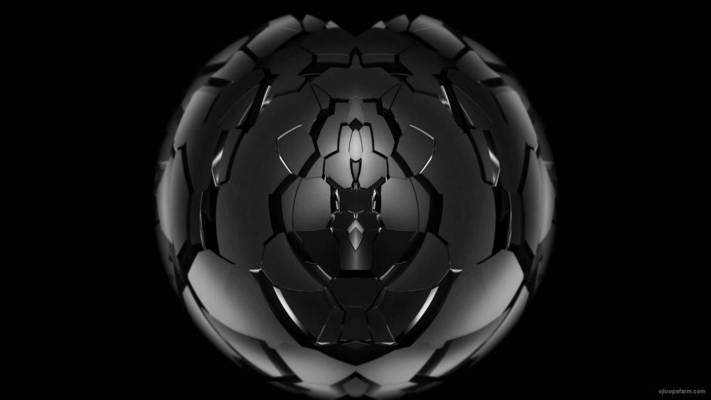 vj video background Radial-Shield-Fragments-Sphere-Fulldome-4K-Video-Mapping-Loop_003