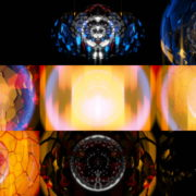 Radial-Trans-Star-Gate-Glowing-Video-Art-Vj-Loop VJ Loops Farm
