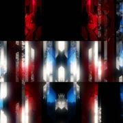 Red-Blue-Sword-Line-Elements-Exclusive-Video-Art-VJ-Loop VJ Loops Farm