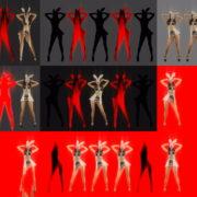 Red-Strobing-Bunny-Jam-Girls-dancing-for-Playboy-4K-Video-Art-EDM-VJ-Loop VJ Loops Farm