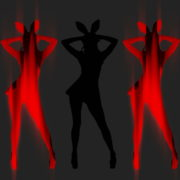 Red-Strobing-Bunny-Jam-Girls-dancing-for-Playboy-4K-Video-Art-EDM-VJ-Loop_001 VJ Loops Farm