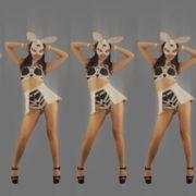 vj video background Red-Strobing-Bunny-Jam-Girls-dancing-for-Playboy-4K-Video-Art-EDM-VJ-Loop_003