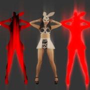 Red-Strobing-Bunny-Jam-Girls-dancing-for-Playboy-4K-Video-Art-EDM-VJ-Loop_004 VJ Loops Farm