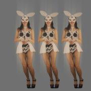 Red-Triada-Position-Rabbit-Girls-jumping-on-strobing-background-4K-Video-Art-VJ-Loop_004 VJ Loops Farm