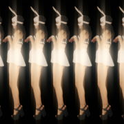 vj video background Rotating-Strobing-Bunny-Girl-Jump-4K-Video-Art-Vj-Loop_003