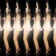 Rotating-Strobing-Bunny-Girl-Jump-4K-Video-Art-Vj-Loop_004 VJ Loops Farm