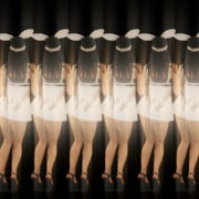 Rotating-Strobing-Bunny-Girl-Jump-4K-Video-Art-Vj-Loop_006 VJ Loops Farm