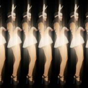 Rotating-Strobing-Bunny-Girl-Jump-4K-Video-Art-Vj-Loop_008 VJ Loops Farm