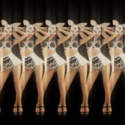 vj video background Shaking-Ass-Bunny-Girl-Video-Art-Vj-Loop-4K_003