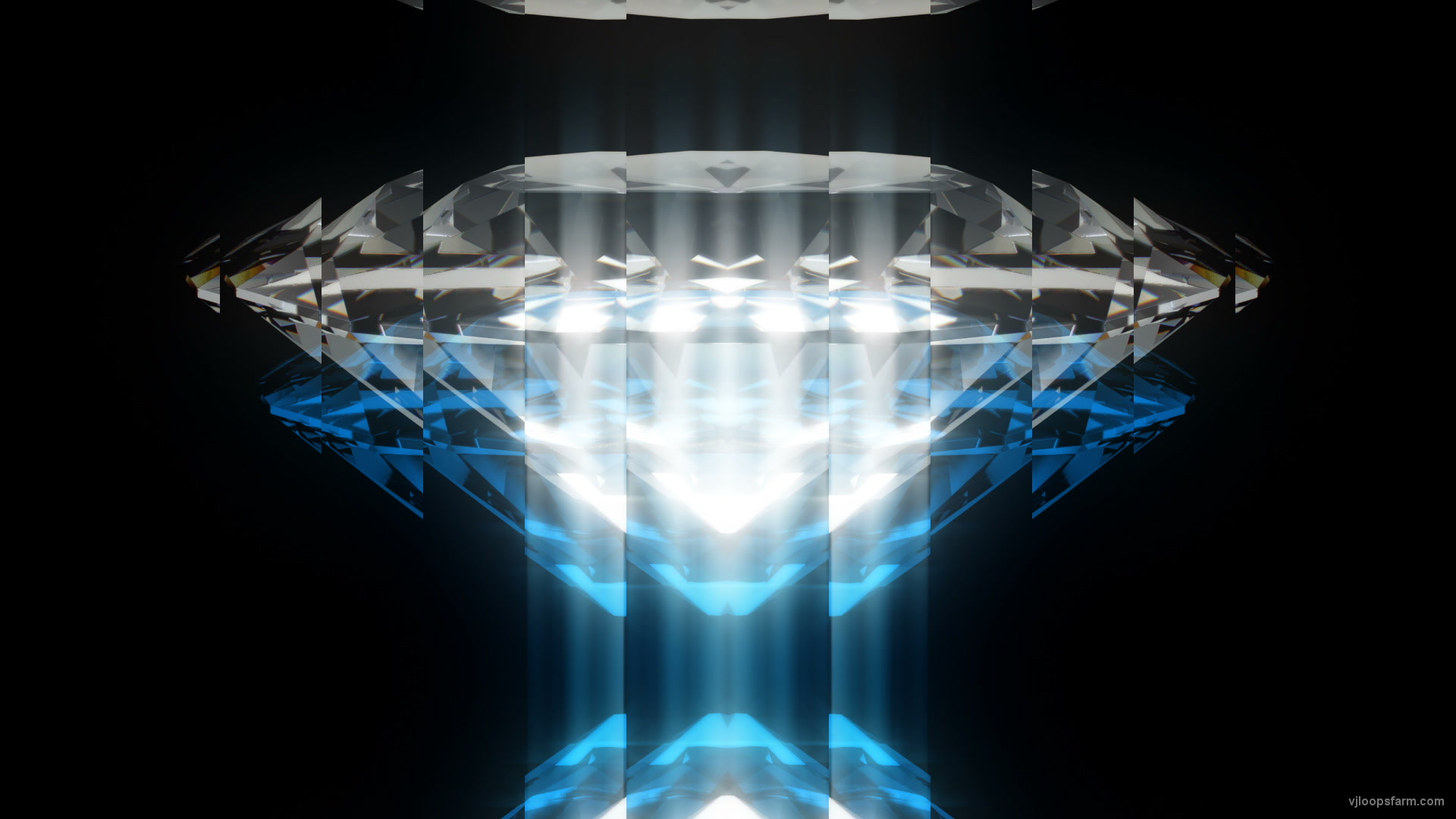 vj video background Shine-Like-a-Diamond-in-Full-HD-Video-Art-Blue-Vj-Loop_003