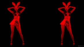 Side-Red-Double-Girls-Rabbit-Playboy-Effect-4K-Video-Art-VJ-Loop_006 VJ Loops Farm