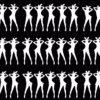 Silhouette-Playboy-Rabbit-Bunny-Dancing-Girls-4K-Video-Art-VJ-Loop-Mask VJ Loops Farm
