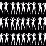 Silhouette-Playboy-Rabbit-Bunny-Dancing-Girls-4K-Video-Art-VJ-Loop-Mask VJ Loops Farm