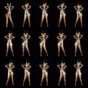 Trio-Dance-Shake-Twerk-Bunny-Rabbit-Girl-Video-Art-4K-Vj-Loop VJ Loops Farm
