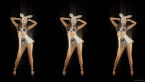 vj video background Trio-Dance-Shake-Twerk-Bunny-Rabbit-Girl-Video-Art-4K-Vj-Loop_003