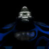 3D gorilla vj loop video art