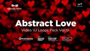 Abstract Love vj loops