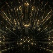 Abstract loop ripple gold 3d wave_vj_loops_Layer