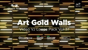 Art-Gold-Walls-Visuals-Vj-loops