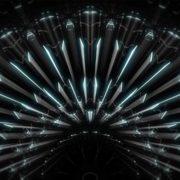 blue vj loops video footage