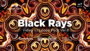 Black Rays VJ Loops