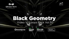 Black-geometry-VJ-loops