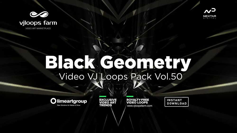 Black-geometry-VJ-loops