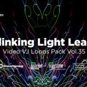 LIGHT LEAKS WALLPAPER ABSTRACT VJ LOOP