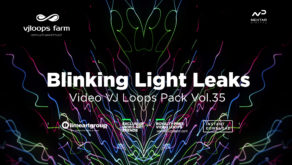 LIGHT LEAKS WALLPAPER ABSTRACT VJ LOOP
