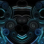 blue minimal vj loops