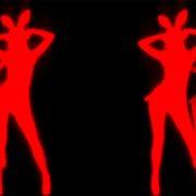 Bunny_Dancing_Girls_On_Black_Motion_Background_VJ_Loop
