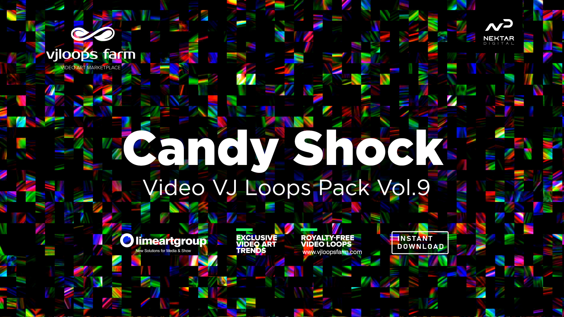 Candy Shock vj loops