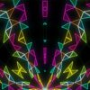 psychedelic colorful video loops