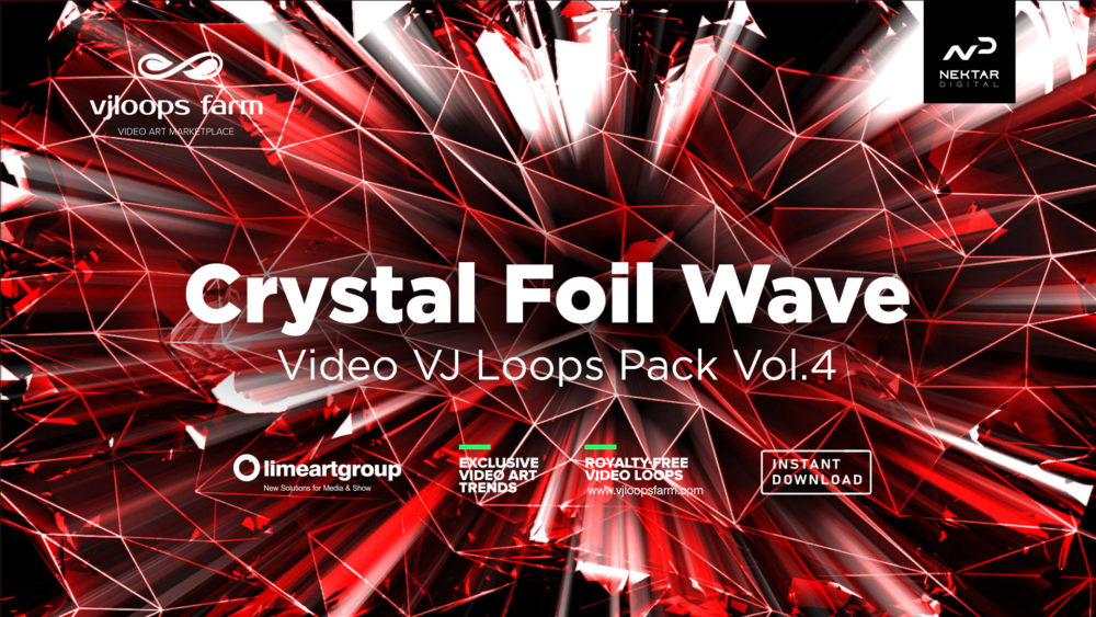 Crystal Foil Black